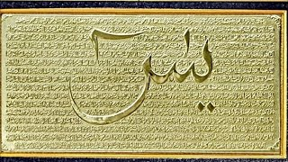 Yā sīn (arabic: سورة يس) is the 36th 'chapter' of qur'an with 83 ayat, and one mekkan suras. its also called heart quran. what are ...