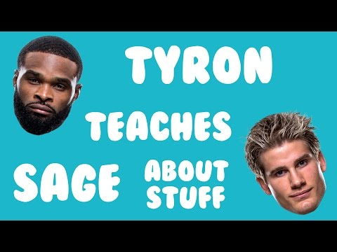 TYRON TEACHES SAGE ABOUT STUFF!!! EPISODE 1: VIDEO GAMES