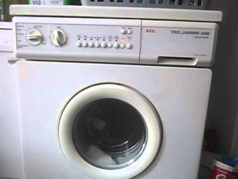 aeg oko lavamat 6350 spinning youtube. Black Bedroom Furniture Sets. Home Design Ideas