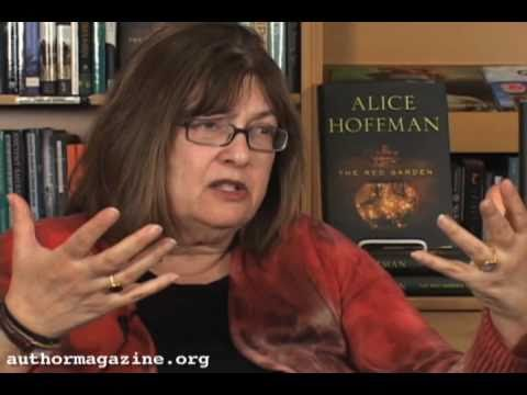 Alice Hoffman The Red Garden Interview Video Author Alice Hoffman