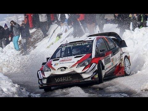 WRC Rallye Monte Carlo 2018 | Flatout, Snow & Pure Sound [HD]