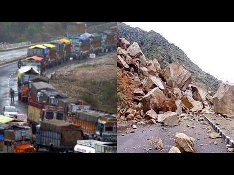 Jammu-Srinagar national highway blocked after landslide