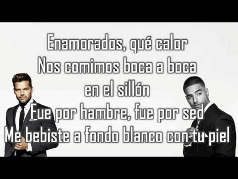 Vente pa ca  Ricky Martin Ft  Maluma  (lyrics) (letra) download Karaoke