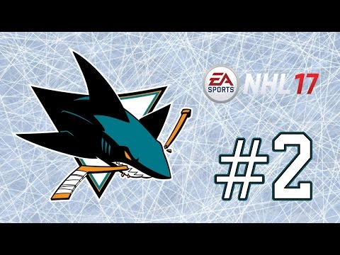 NHL 17 ~ San Jose Sharks GM Mode Commentary ~ #2 (Veteran Presence = Cup??)