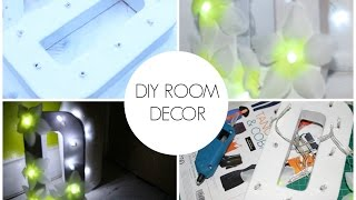 Diy Room Decor Floral Marquee Light