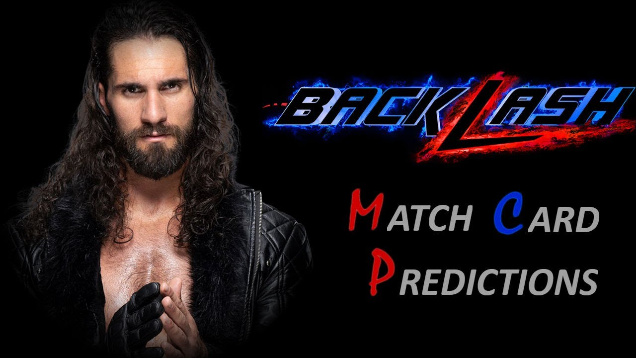 WWE Backlash 2020 Match Card Predictions - YouTube