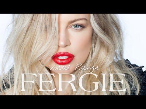 Fergie's Vocal Range: B2 - A5 - Eb6