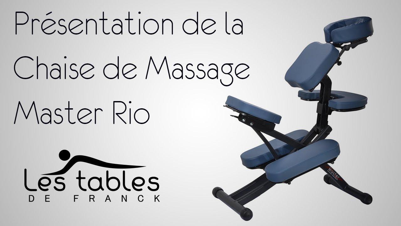 La Massage Franck Présente Rio Tables Chaise Les De Master TOXPikZu