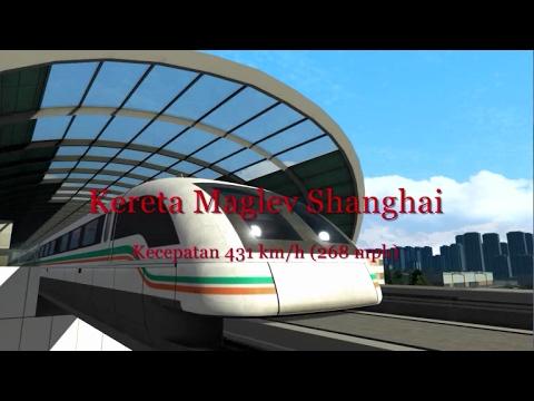 Kereta Cepat Maglev Shanghai