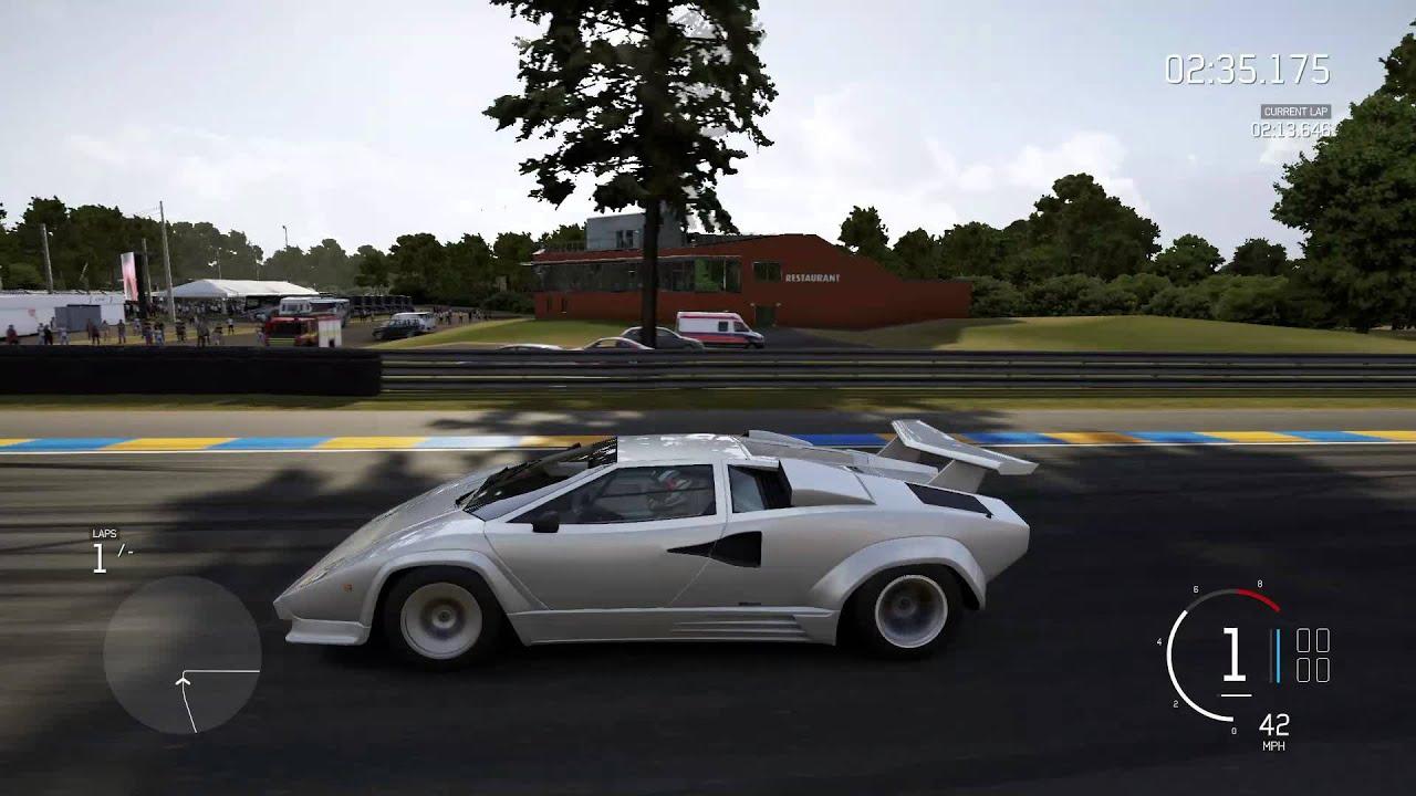 Forza 6 189 Mph 1988 Lamborghini Countach Lp5000 Qv 455 Hp