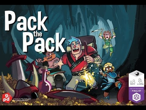 Pack The Pack Kickstarter vid - 2nd cut