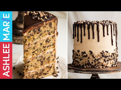 Cinnamon Chocolate Chip Cake Recipe With Brown Sugar Cream Cheese Frosting