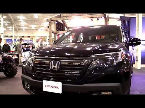 2019 Honda Ridgeline Black Edition Design Special Limited First Impression Lookaround