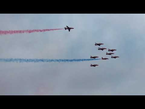 Day 2 Prestwick Airshow/ F-16/ Red Arrows