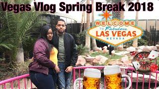 Vegas Vlog Spring Break 2018 | Baecation Style