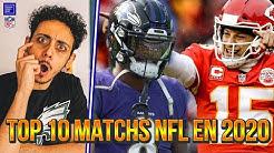 TOP 10 MATCHS NFL À REGARDER EN 2020 !