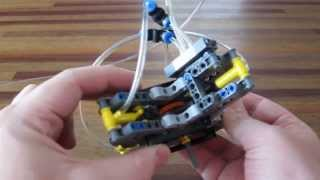 Lego Pneumatic Engine - 4 cylinder radial cam engine