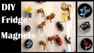DIY Fridge Magnets || Home Decor || Sowbaraniya Ramesh
