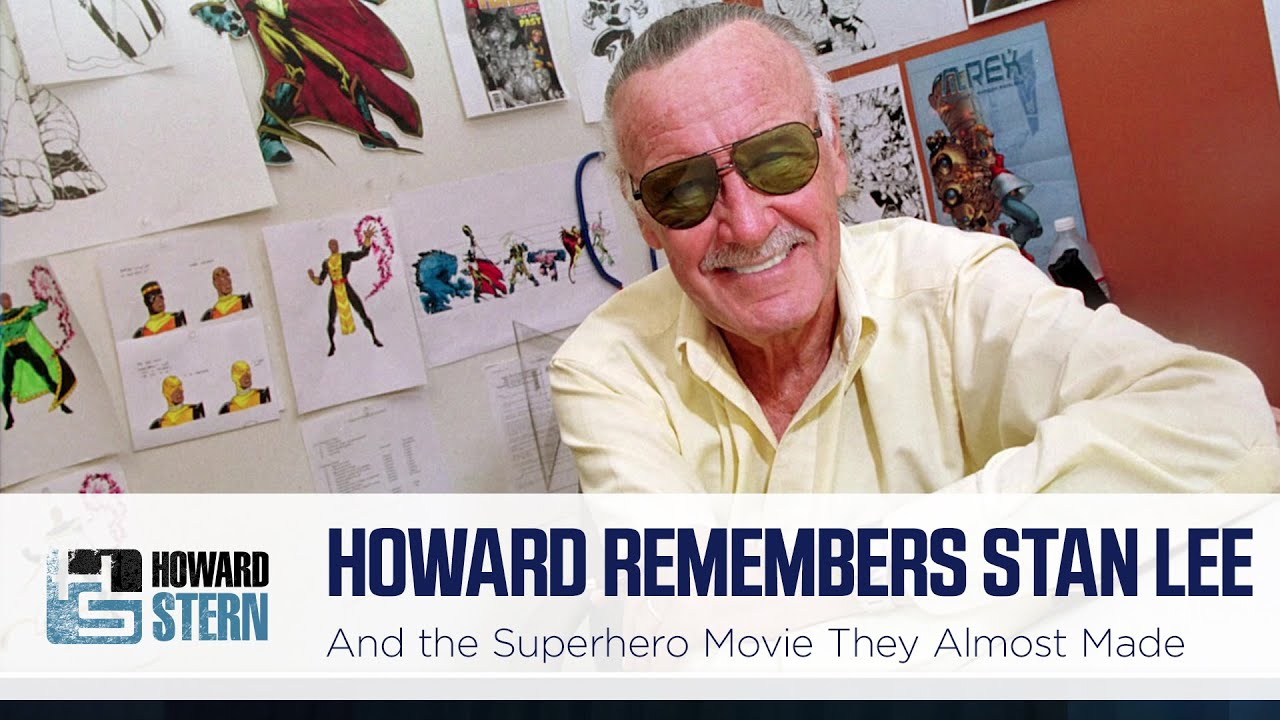 Howard Stern Remembers Stan Lee and the Superhero Movie They Almost Made Together (2018)