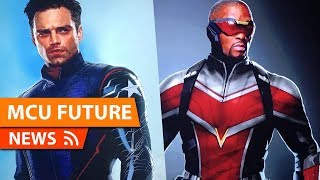 First Look at The Falcon & Winter Soldier NEW Suits & More - MCU FUTURE