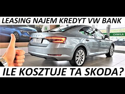 Ile kosztuje? Nowa Skoda Superb - Leasing VW Bank / Bida Vlog