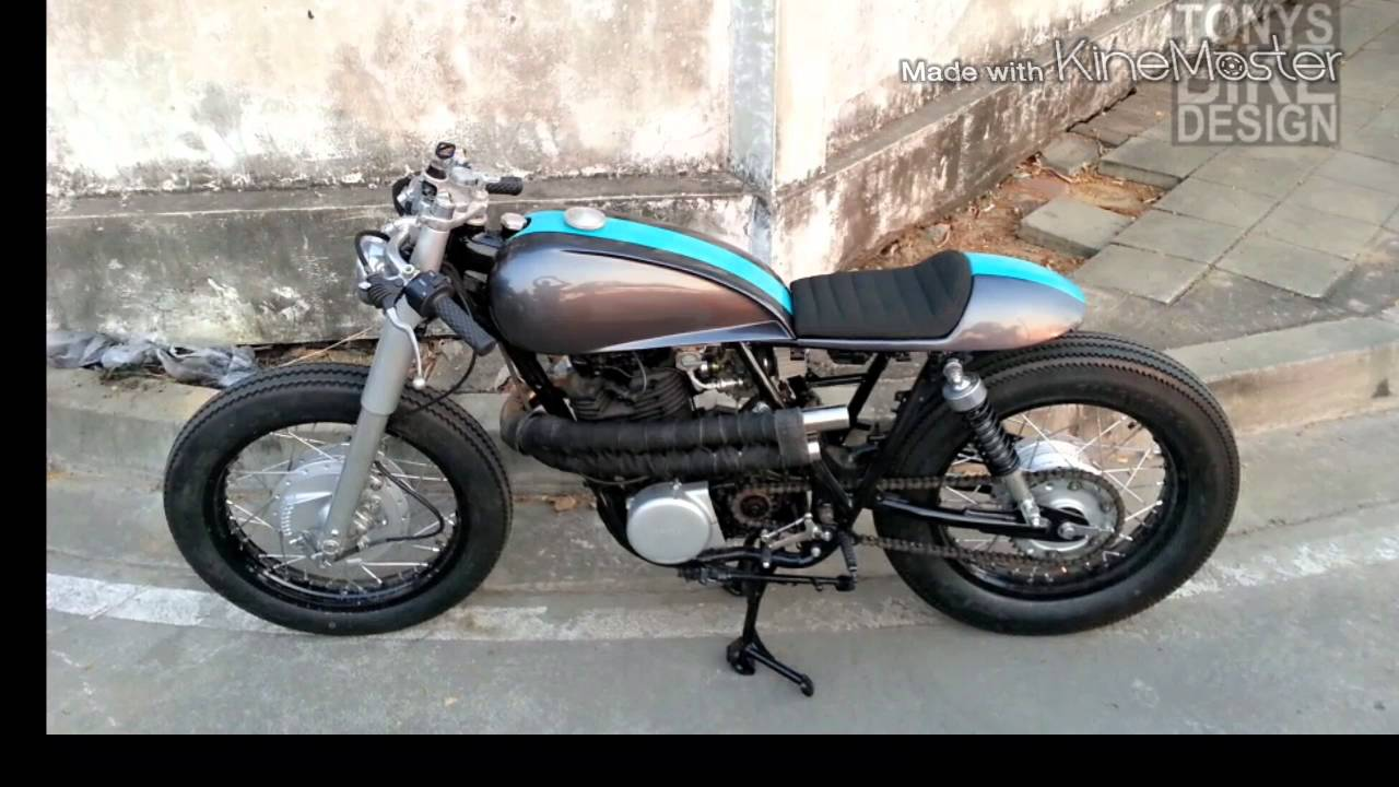 Yamaha Sr400 Custom Cafe Bike By Tonys Bike Design Youtube