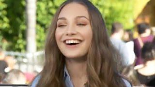 Maddie Ziegler Gets Embarrassed Talking About Her Boyfriend During Live Interview