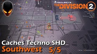 The Division 2 : Caches Techno SHD - Southwest 5/5
