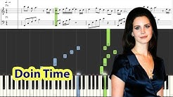 [Piano Tutorial] Lana Del Rey - Doin' Time
