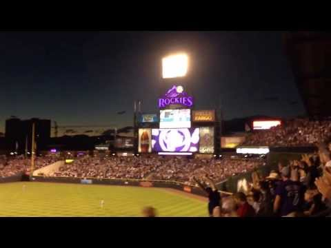 Todd Helton home run in final home game
