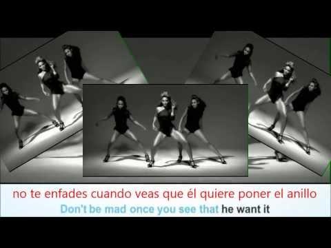 Beyoncé -Single Ladies. VIDEO.(Lyrics+ Sub Español)