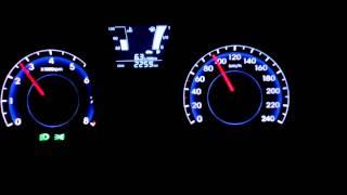 acceleration Hyundai ix20, 1.4 CVVT, 66 kw, 5 speed, 60-100 km/h, 80-120km/h