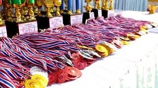 บรรยากาศ กีฬาสีภายใน วิทยาลัยอาชีวะศึกษาอุดรธานี