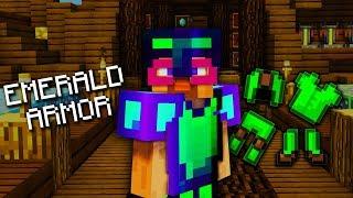 Emerald Armor in Hypixel Skyblock