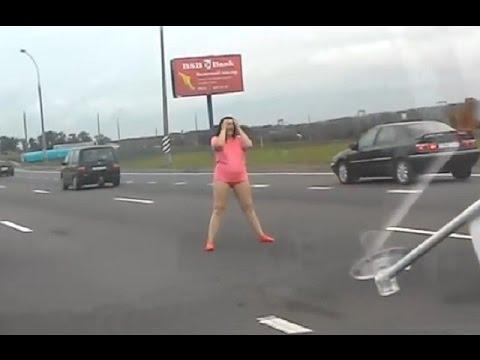 Russian women vs Russian driver. Drunk women and vodka