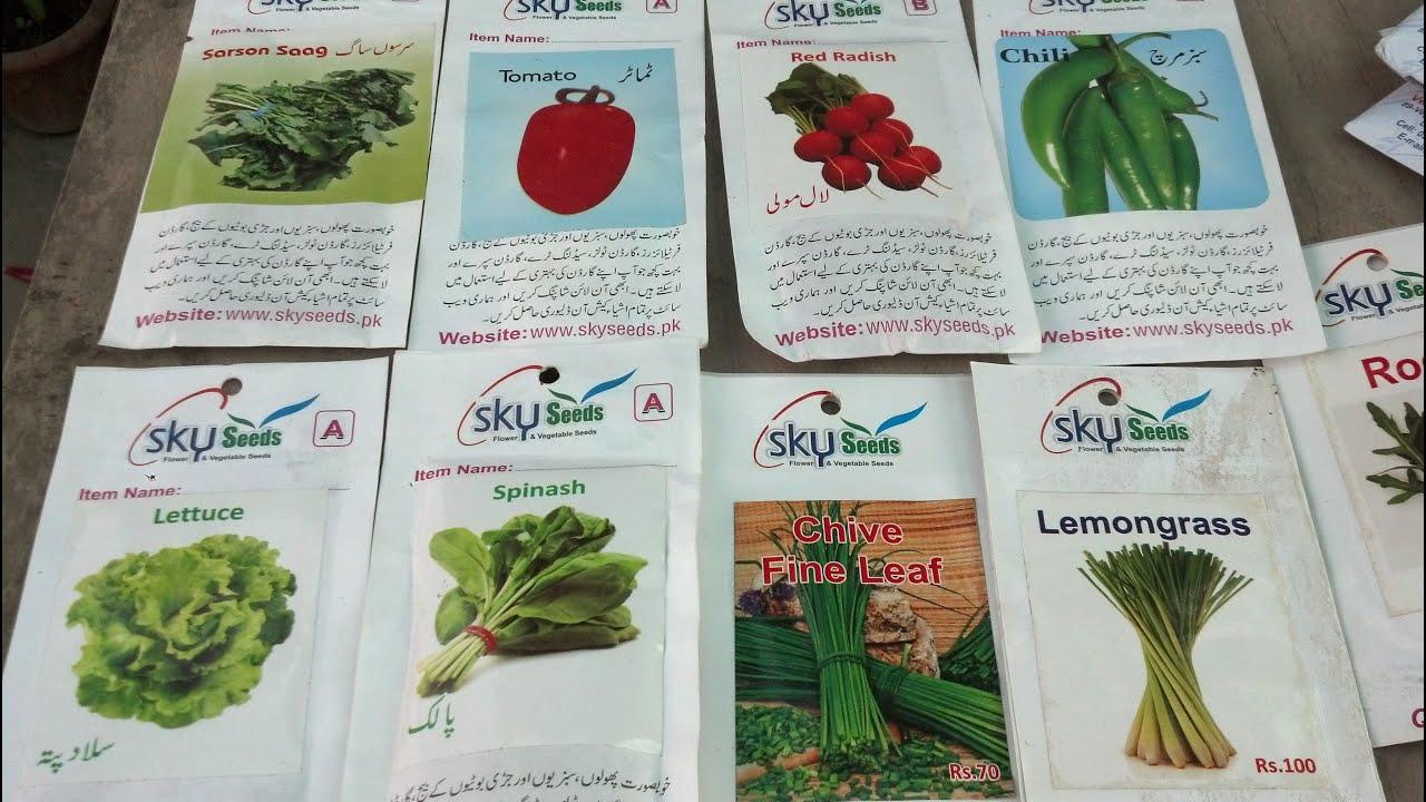 What Plants Grow In Winter Seeds Shopping Happy Gardening September 2016 Urdu Hindi