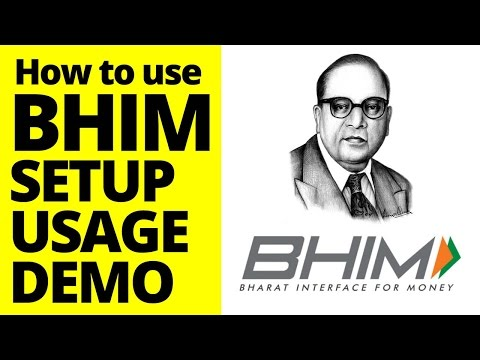 How to Use BHIM App? Download, Setup, Usage a Complete Demo