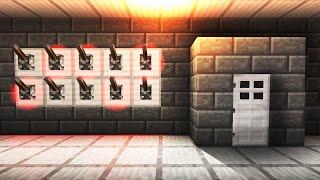 Lever Password Activated Door! - Minecraft Tutorial