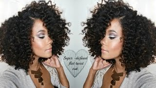THE BEST FLAT TWIST OUT TUTORIAL ft Camille Rose Naturals Yolanda Renee HD