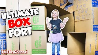 box fort house