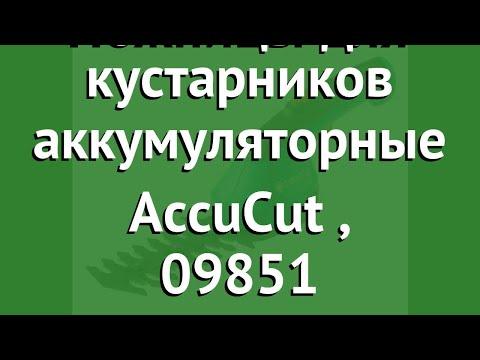 Ножницы для кустарников аккумуляторные AccuCut (Gardena), 09851 обзор 09851-20.000.00