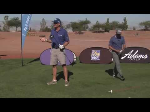 Ernie Els Demonstrates the Art to a Great Swing
