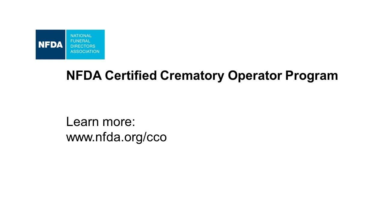NFDA Cremation Certification Program