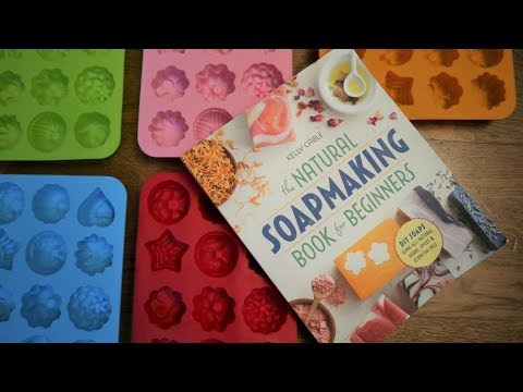 SOAPMAKING BOOK REVIEW | The Natural Soapmaking Book for Beginners by Kelly Cable