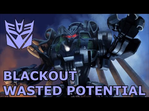 Transformers Wasted Potential (S2.EP3) Blackout's Wasted Potential