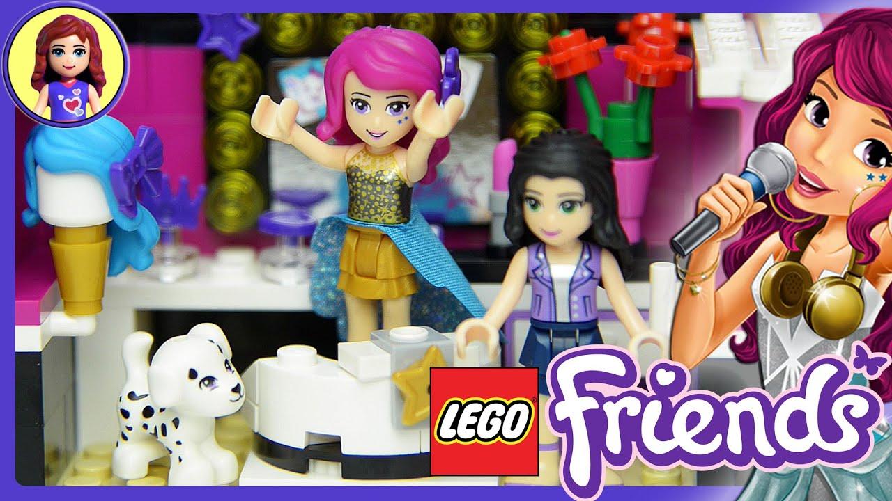 Lego Friends Pop Star Dressing Room Set Unboxing Building Review