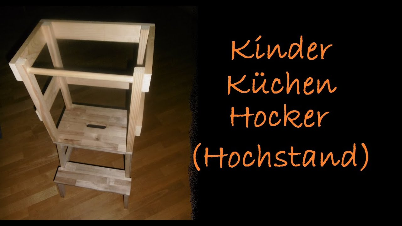 dmz kinder k chen hocker bauen diy f r kleine. Black Bedroom Furniture Sets. Home Design Ideas