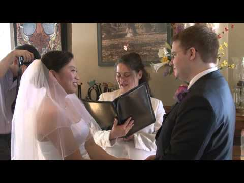 Small Wedding Venue and Wedding Officiant, Pine Manor Chicago Spring Wedding