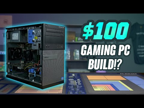 2020 Budget $100 Gaming PC - Step by Step Guide