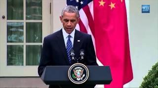 President Obama raises Tibet at the Obama-Xi summit, September 25